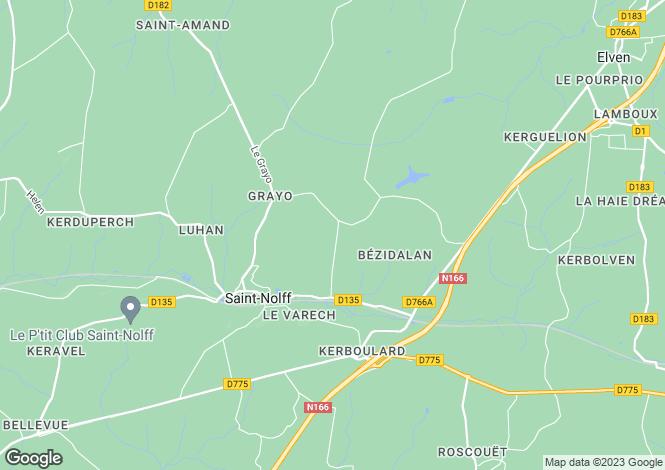 Map for SAINT NOLFF, Bretagne