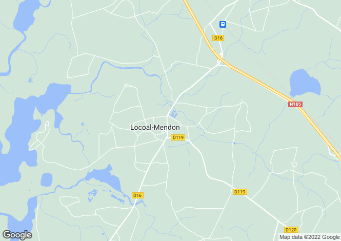 Map for locoal-mendon, Morbihan, France