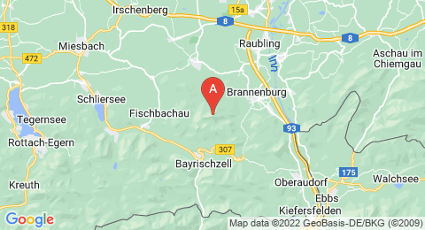 map of Hochsalwand (Germany)
