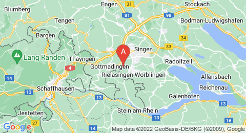 map of Rosenegg (Germany)
