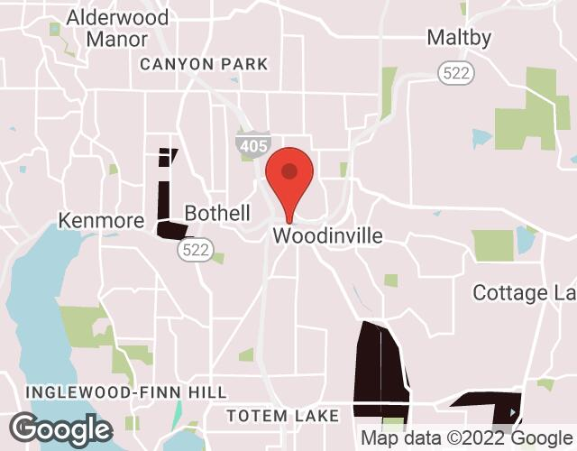 Woodinville map