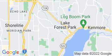 Lake Forest Park Gutter Cleaning map