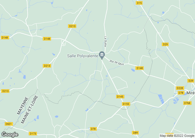 Map for st-laurent-des-mortiers, Mayenne, France
