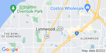 Lynnwood Window Cleaning map