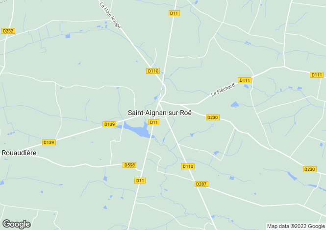 Map for st-aignan-sur-roe, Mayenne, France