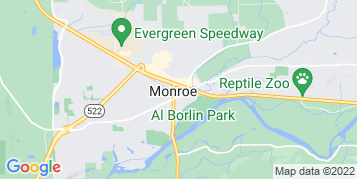 Monroe Roof Cleaning map