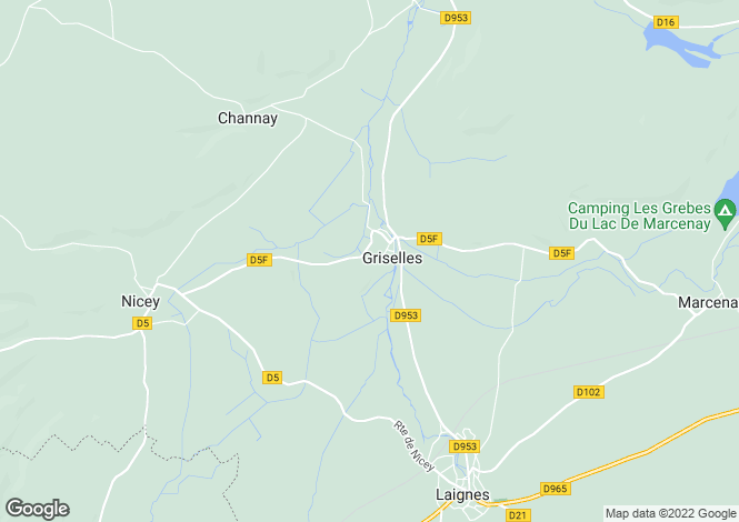 Map for 21330 griselles