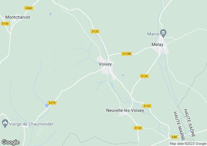Map for Bourbonne-les-Bains, Haute-Marne, Champagne-Ardenne