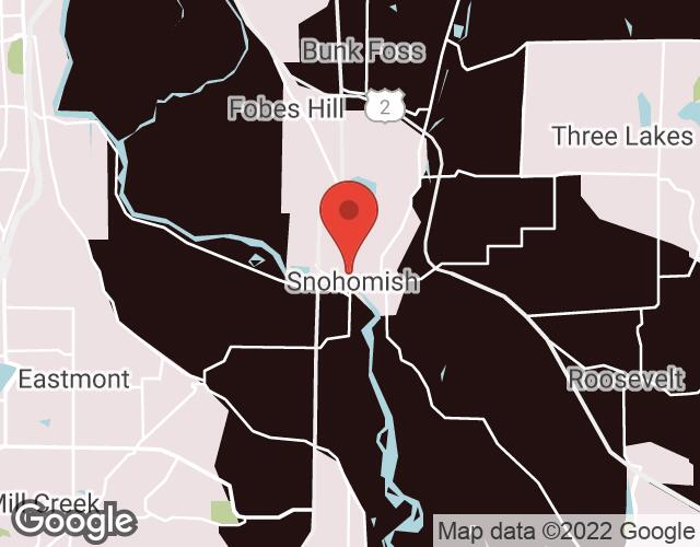 Snohomish map