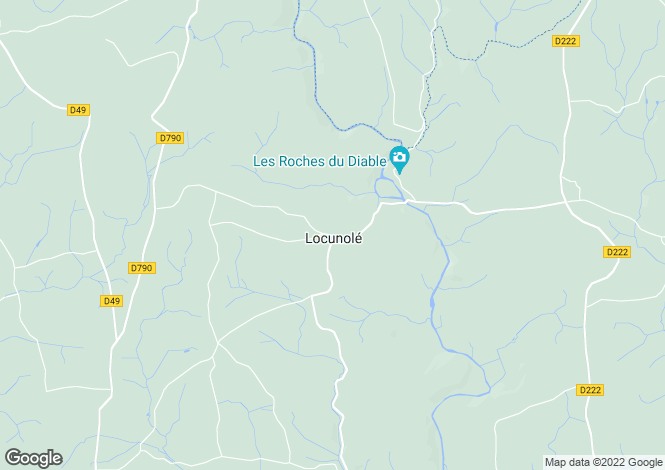 Map for locunole, Finistère, France