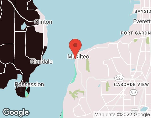 Mukilteo map