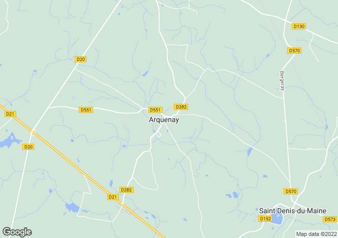 Map for Laval, Mayenne, Loire Valley