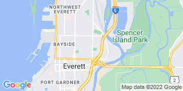 Everett Window Cleaning map