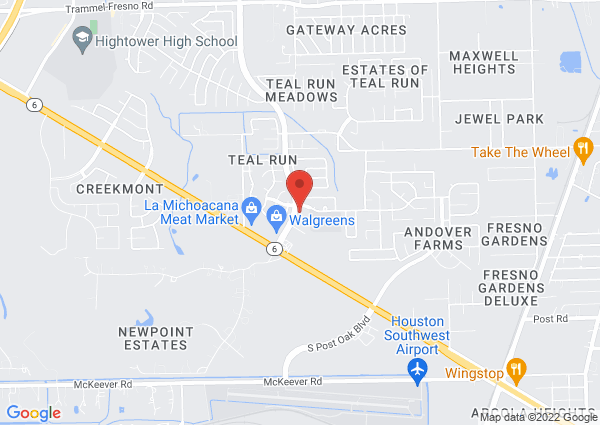 Map of 4703 Teal Bend Boulevard, Fresno, TX, United States