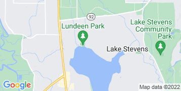 Lake Stevens Window Cleaning map