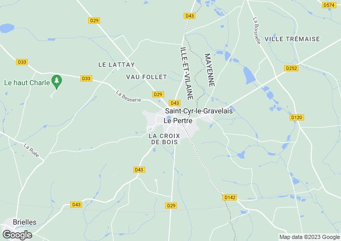 Map for le-pertre, Ille-et-Vilaine, France