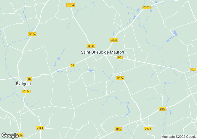 Map for Saint-Brieuc-de-Mauron, Morbihan, 56430, France