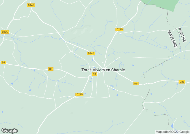 Map for Torcé-Viviers-en-Charnie ,Pays de la Loire ,France