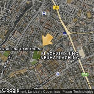 Bild: Lageplan: Bad Giesing-Harlaching