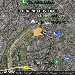 Bild: Lageplan: Schyrenbad