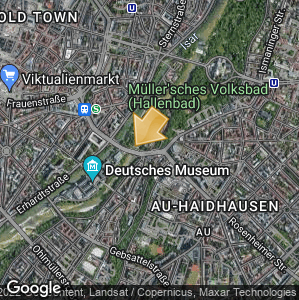 Picture: Map of location: Müller'sches Volksbad