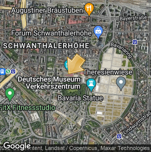 Picture: Map of location: Deutsches Museum Verkehrszentrum