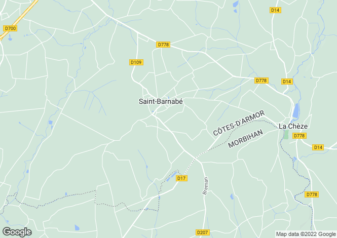 Map for st-barnabe, Côtes-d'Armor, France