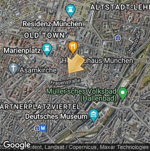 Picture: Map of location: Bier &  Oktoberfestmuseum