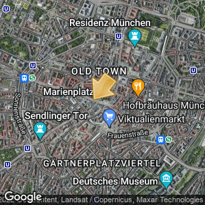 Picture: Map of location: Marienplatz