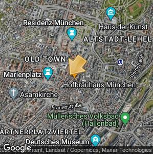 Bild: Lageplan: Platzl