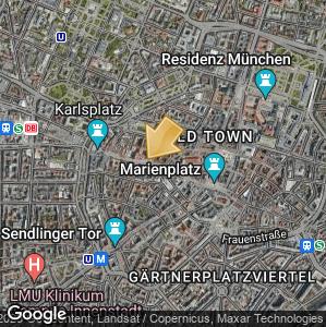 Picture: Map of location: Deutsches Jagd - und Fischereimuseum