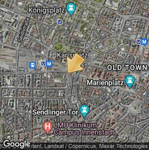 Bild: Lageplan: Karlsplatz (Stachus)