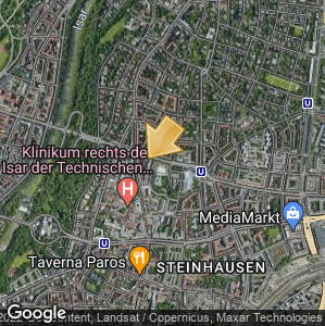 Picture: Map of location: Prinzregentenbad
