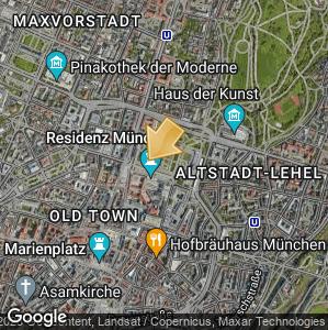 Bild: Lageplan: Altstadt-Lehel