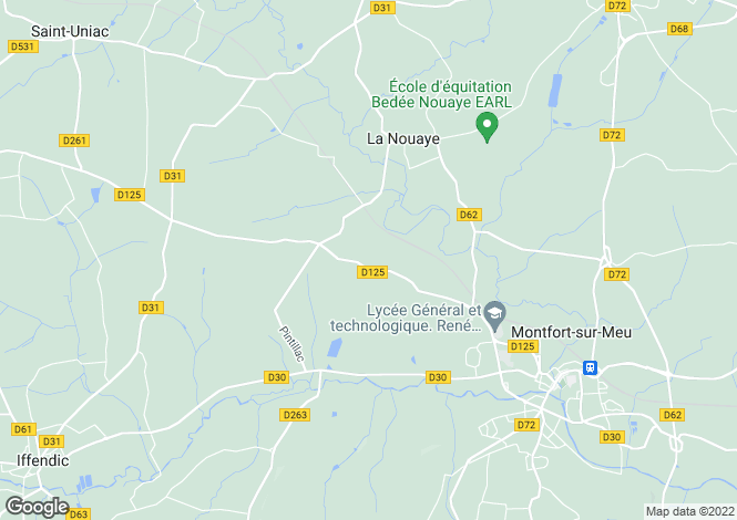Map for la-nouaye, Ille-et-Vilaine, France