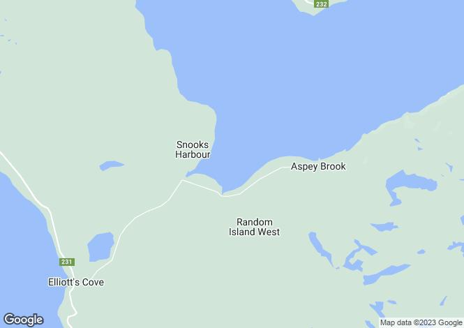 Map for Clarenville, Newfoundland and Labrador