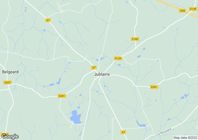 Map for Pays de la Loire, Mayenne, Jublains