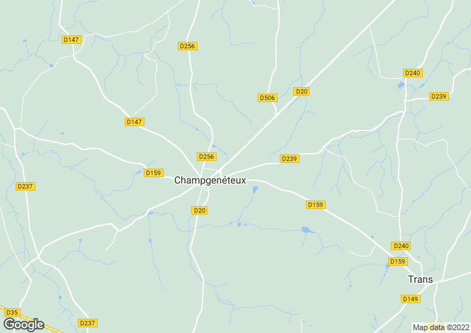 Map for champgeneteux, Mayenne, France