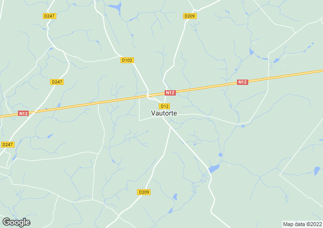 Map for Vautorte ,Pays de la Loire ,France