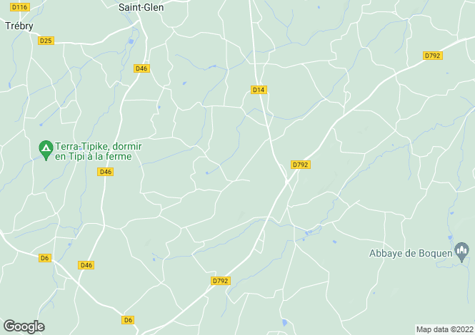 Map for le-gouray, Côtes-d'Armor, France