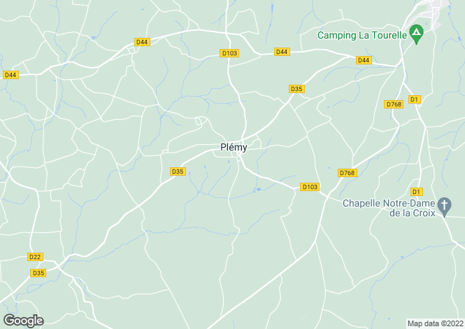 Map for Brittany, Côtes-d'Armor, Plémy