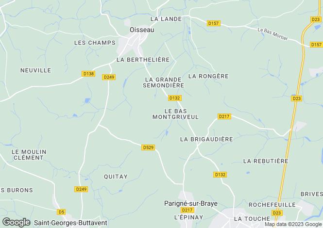 Map for Oisseau ,Pays de la Loire ,France