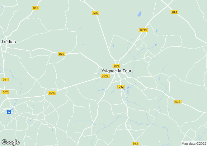 Map for yvignac-la-tour, Côtes-d'Armor, France
