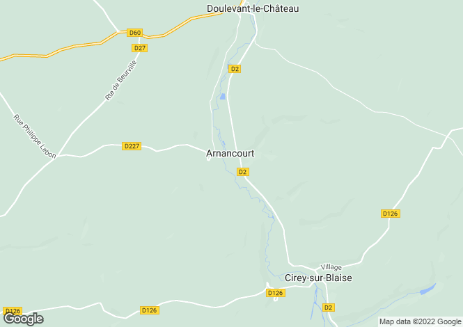 Map for Doulevant-le-Château, Haute-Marne, Champagne-Ardenne