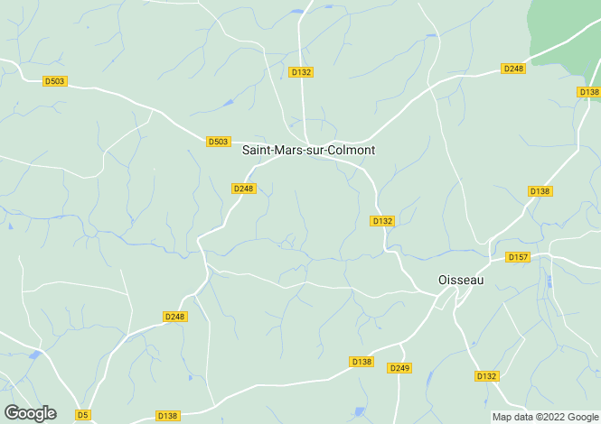 Map for st-mars-sur-colmont, Mayenne, France