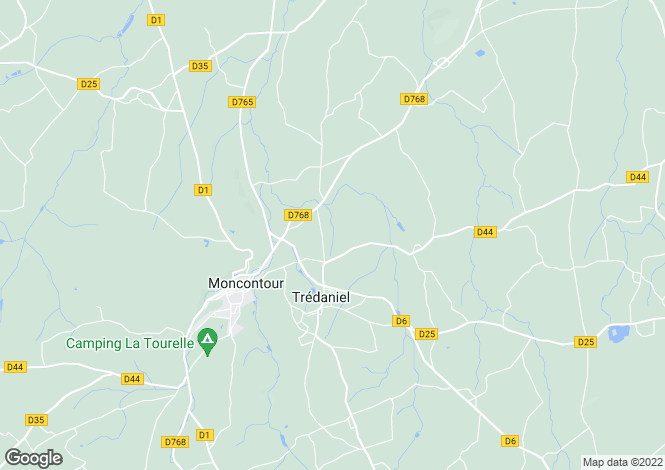 Map for TREDANIEL,