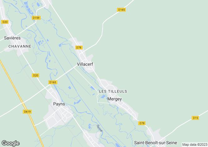 Map for Saint-Seine, Bourgogne, 58250, France