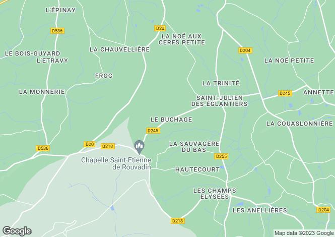 Map for Pré-en-Pail, Mayenne, Pays de la Loire