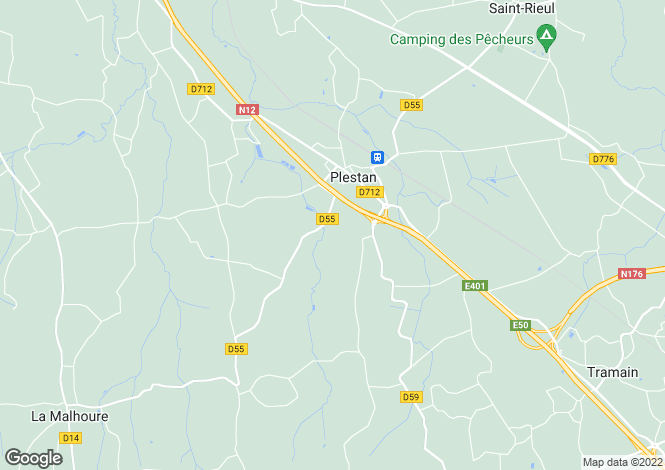 Map for plestan, Côtes-d'Armor, France