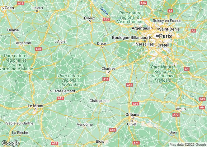 Map for gasville, Eure-et-Loir, France